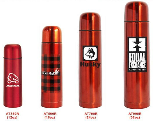 Red Color Vacuum Thermos on EQP